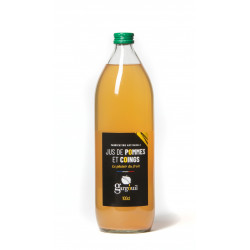 Jus pommes coings 1 l