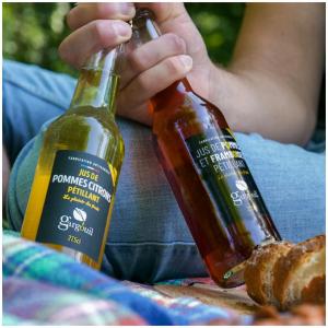Les pétillants Gargouil 🇫🇷: Des boissons raffinées, aux fines bulles, sans alcool, respectueuses de l'environnement et fabriquées de façon artisanale en FRANCE.   @studio_onze_production #finesbulles#sansalcool#jusdepommes#ecoresponsable#applejuice#sparklingjuice#letsdrink#healtly#gargouiljus#instamoment#sansogm#frenchproduct