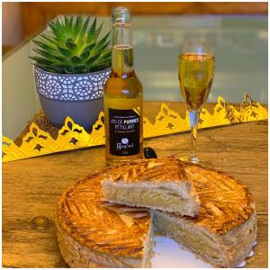 Le combo parfait 🤩😍 #jusdepomme#galettedesrois#comboparfait#instafood#enjoy#enjoythemoment#epiphanie#madeinfrance🇫🇷