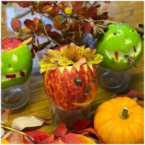 Un grand merci à notre groupe d'anciens pour ces magnifiques confections d'Halloween 🎃👻  #pommes#hallowen#decoration#havefun#scared#apple#fruits#letseatapple#bestfruit#charrouxvienne