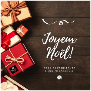 Toute l'équipe Gargouil vous souhaite un joyeux Noël 🎄🎁. #christmas#family#chrismastime#chrismastime🎄🎁🎅⛄️️#enjoylife#enjoythemoment#enjoythelittlethings