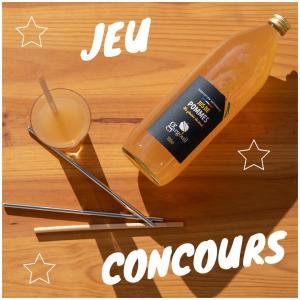 Pour démarrer un lundi en forme, on vous fait une belle surprise !! Nous nous associons avec la marque @lespailles pour vous faire gagner un lot fruité et frenchy 🇫🇷 :  ~ A gagner :  ✨ 4 bouteilles de jus de fruits @gargouil_jus ✨ Un kit de pailles (5 blés, 1 inox, 1 roseau et 1 goupillon) @lespailles ~ Pour jouer, rien de plus simple : 🌿 Liker ce post ✅ S'abonner aux comptes @lespailles et @gargouil_jus ✍🏻 Taguez 2 à 3 amis ! 🚀 Maximiser vos chances en partageant le post en story ~ Fin du concours le 17 octobre à 00h. Un gagnant tiré au sort parmi les deux comptes. *Jeu concours valable en France métropolitaine uniquement.  @studio_onze_production 📸 #concours#pailles#artisanal#madeinfrance🇫🇷#letsplay#game#jusdefruits#francais#jeuconcoursinstagram#gifts#pommes#applejuice